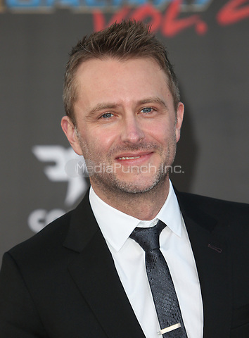 """HOLLYWOOD, CA - April 19: Chris Hardwick, At Premiere Of Disney And Marvel's """"Guardians Of The Galaxy Vol. 2"""" At The Dolby Theatre  In California on April 19, 2017. Credit: FS/MediaPunch"""