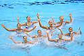 2012 Olympic Games - Synchronized Swimming - Women's Team Technical Routine