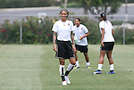 21 August 2009: Natasha Kai. Sky Blue FC held a training session at the Home Depot Center in Carson, California one day before playing Los Angeles Sol in the inaugural Women's Professional Soccer Championship Game.