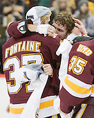 110409-Frozen Four-University of Minnesota-Duluth Bulldogs Postgame