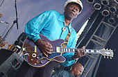 Chuck Berry, LIVE, 2007;<br /> Photo Credit: Ron Akiyama\AtlasIcons.com