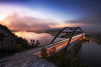 360 Bridge on Lake Austin, Texas (Pennybacker Bridge) Stock Photo Image Gallery
