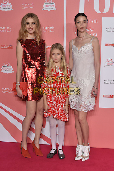 Natalia Vodianova<br /> arrivals at London's Fabulous Fund Fair 2016 in aid of the Naked Heart Foundation at Old Billingsgate Market on 20th February 2016.<br /> CAP/PL<br /> &copy;Phil Loftus/Capital Pictures