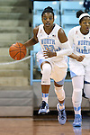 21 December 2013: North Carolina's Diamond DeShields. The University of North Carolina Tar Heels played the High Point University Panthers in an NCAA Division I women's basketball game at Carmichael Arena in Chapel Hill, North Carolina. UNC won the game 103-71.