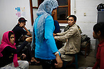 Detainees at the Sharia police station, in Banda Aceh,  Indonesia, on Saturday, Nov. 21, 2009. Banda Aceh enforces a moderate form of Islamic Law.