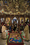 Capernaum, the day of St. Paul and St.Peter at the Greek Orthodox Church of the Twelve Apostles