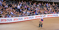 Picture by Alex Whitehead/SWpix.com - 04/03/2016 - Cycling - 2016 UCI Track Cycling World Championships, Day 3 - Lee Valley VeloPark, London, England - Great Britain's Andy Tennant wins Bronze in the Men's Individual Pursuit.