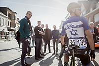 Israeli National Champion Guy Sagiv (ISR/Israel Cycling Academy) pre-race<br /> <br /> 72nd Nokere Koerse 2017 (1.HC)