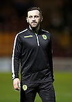Motherwell v St Johnstone..30.12.15  SPFL  Fir Park, Motherwell<br /> James McFadden warms-up<br /> Picture by Graeme Hart.<br /> Copyright Perthshire Picture Agency<br /> Tel: 01738 623350  Mobile: 07990 594431