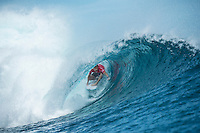 Namotu Island Resort, Nadi, Fiji (Saturday, June 5 2016): Mick Fanning (AUS)  warmup - The  2016 Fiji  Pro commenced at Cloudbreak this morning in a bumpy 4'-5' swell. Round one was completed as new longer period swell from the West filled in during the day. Round Two was called off as the  wind swung to the NW making the surface the waves very choppy.  Photo: joliphotos.com