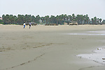 Joggers On Orond Beach