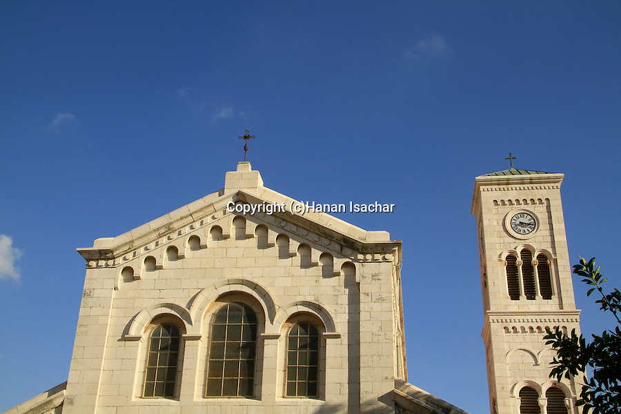 Israel, Lower Galilee, the Church of St. Joseph in Nazareth