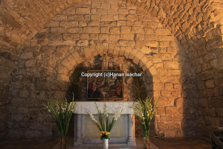Israel, Lower Galilee, the Synagogue Church in Nazareth