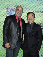 NEW YORK, NY-August 01: Dan Didio, Jim Lee at Warner Bros. Pictures & DC, Atlas Entertainment  presents the World Premiere of Suicide Squad  at the Beacon Theatre in New York. NY August 01, 2016. Credit:RW/MediaPunch