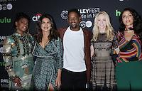 NEW YORK, NY-October 17: Aunjanue Ellis, Priyanka Chopra, Blair Underwood,Johanna Braddy,Yasmine al Massri, at PaleyFest New York presents Quantico at the Paley Center for Media in New York.October 17, 2016. Credit:RW/MediaPunch