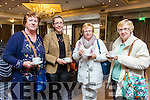 At the Tralee 800 Conference at the Rose Hotel on Saturday were Helen Fitzgerald, Victoria McCarthy, Gillian Slye, Phyllis Mason