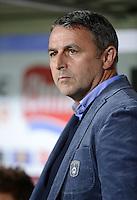 FUSSBALL   1. BUNDESLIGA   SAISON 2012/2013  5. SPIELTAG  26.09.2012 SC Freiburg - SV Werder Bremen Manager Klaus Allofs (SV Werder Bremen)