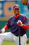 14 March 2006: Daryle Ward, infielder for the Washington Nationals, awaits the start of a Spring Training game against the Florida Marlins. The Marlins defeated the Nationals 2-1 at Space Coast Stadium, in Viera Florida...Mandatory Photo Credit: Ed Wolfstein..