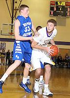 Guerin Boys Basketball vs Chatard 1-4-13