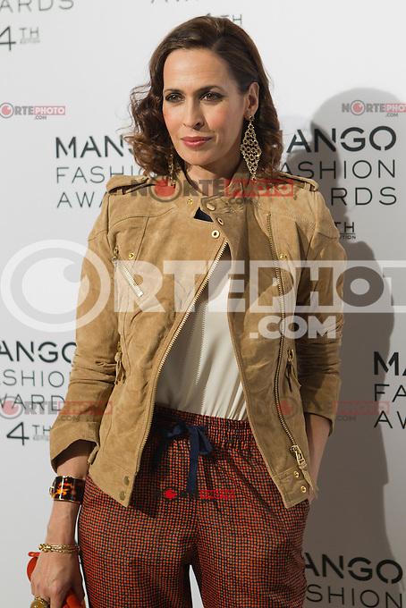Lola Marceli attends the award ceremony of the Mango Fashion Awards,  Barcelona Spain, May 30, 2012