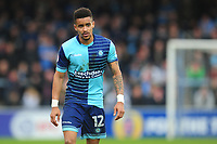 Wycombe Wanderers' Paris Cowan-Hall<br /> <br /> Photographer Kevin Barnes/CameraSport<br /> <br /> The EFL Sky Bet League Two - Wycombe Wanderers v Blackpool - Saturday 11th March 2017 - Adams Park - Wycombe<br /> <br /> World Copyright &copy; 2017 CameraSport. All rights reserved. 43 Linden Ave. Countesthorpe. Leicester. England. LE8 5PG - Tel: +44 (0) 116 277 4147 - admin@camerasport.com - www.camerasport.com