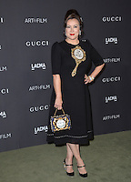 LOS ANGELES, CA. October 29, 2016: Actress Jennifer Tilly at the 2016 LACMA Art+Film Gala at the Los Angeles County Museum of Art.<br /> Picture: Paul Smith/Featureflash/SilverHub 0208 004 5359/ 07711 972644 Editors@silverhubmedia.com