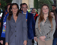 Stéphanie of Monaco & daughters attend the 4th day of the Circus Festival with Stéphane Bern