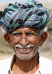 Pakistani man in Mirpurkhas, Sindh. This area has long been plagued by huge landowners forcing poor families into slavery.