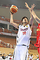 Kosuke Takeuchi (JPN), SEPTEMBER 15, 2011 - Basketball : 26th FIBA Asia Championship Preliminary round Group C match between Japan 81-59 Indonesia at Wuhan Sports Center in Wuhan, China. (Photo by Yoshio Kato/AFLO)