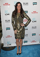 Patti Stanger.Bravo's Andy Cohen's Book Release Party For &quot;Most Talkative: Stories From The Front Lines Of Pop Held at SUR Lounge, West Hollywood, California, USA..May 14th, 2012.full length gold black dress hand on hip.CAP/ADM/KB.&copy;Kevan Brooks/AdMedia/Capital Pictures.