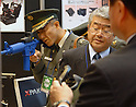 TOKYO, JAPAN- OCTOBER 08: The Security & Safety Trade Expo 2008 called RISCON (Risk Control in Tokyo) on Thursday, Oct 8, 2008, kicked off at Tokyo Big Sight. Some 314 exhibitors are introducing their latest security-related products and technology at 800 booths until Friday 10. (Photo by Taro Fujimoto/JapanToday/Nippon News)