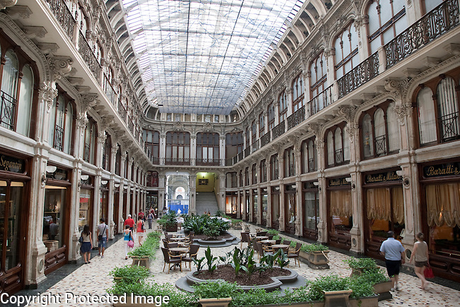 Subalpina Shopping Gallery in Turin - Torino, Italy