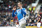 Hearts v St Johnstone&hellip;05.11.16  Tynecastle   SPFL<br />Joe Shuaghnessy reacts after his goal is ruled off-side<br />Picture by Graeme Hart.<br />Copyright Perthshire Picture Agency<br />Tel: 01738 623350  Mobile: 07990 594431