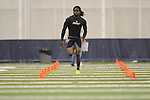 Mississippi football player Marshay Green at Pro Day in the IPF in Oxford, Miss. on Tuesday, March 23, 2010.
