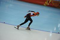 OLYMPICS: SOCHI: Adler Arena, 13-02-2014, 1000m Ladies, Lotte van Beek (NED), ©foto Martin de Jong