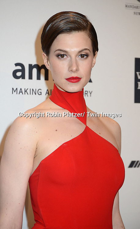 Elettra Wiedman attends the amfAR New York Gala on February 5, 2014 at Cipriani Wall Street in New York City.