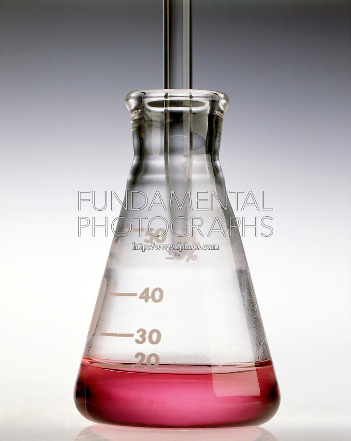 HYDROCHLORIC ACID ADDED TO COBALT II NITRATE<br /> (1 of 5)<br /> Cobalt II Nitrate Before Addition Of HCl<br /> HCl(aq) is added to pink Co(NO3)2(aq) to form blue CoCl4 2- ion.