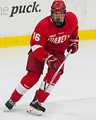 Matt Buckles (Cornell - 16) - The Harvard University Crimson defeated the visiting Cornell University Big Red on Saturday, November 5, 2016, at the Bright-Landry Hockey Center in Boston, Massachusetts.