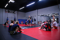 Jackson's/Winklejohn's: January 23, 2012 Coach Greg Jackson teaching class at Jackson's/Winkeljohn's in Albuquerque, NM