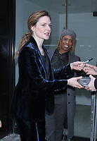 NEW YORK, NY March 21, 2017  Rebecca Ferguson at Good Morning America to talk about her new movie Life in New York March 21, 2017. Credit:RW/MediaPunch