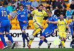 St Johnstone v Kilmarnock....02.04.11 .Alexei Eremenko loses out to Danny Grainger.Picture by Graeme Hart..Copyright Perthshire Picture Agency.Tel: 01738 623350  Mobile: 07990 594431