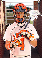 UVa men's lacrosse player Gavin Gill. Photo/Andrew Shurtleff