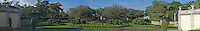 Florida, Miami, Vizcaya Museum &amp; Gardens, panorama
