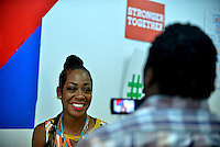 MIAMI GARDENS, FL - AUGUST 06: Tichina Arnold visit the Hillary for Florida Volunteers Phone Bank and Voter Registration Drive at the Florida Democratic Party Miami Gardens office on Saturday, August 6, 2016 in Miami Gardens, Florida. Credit: MPI10 / MediaPunch