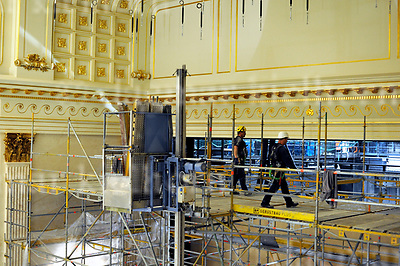 April 24-17,Staatsoper Unter den Linden,Berlin,Germany<br /> Staatsoper Unter den Linden reopens on 3rd october 2017<br /> Still work to be done,inside the building
