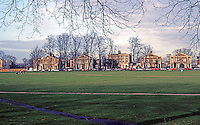 London: Richmond, The Richmond Green.  Photo '90.