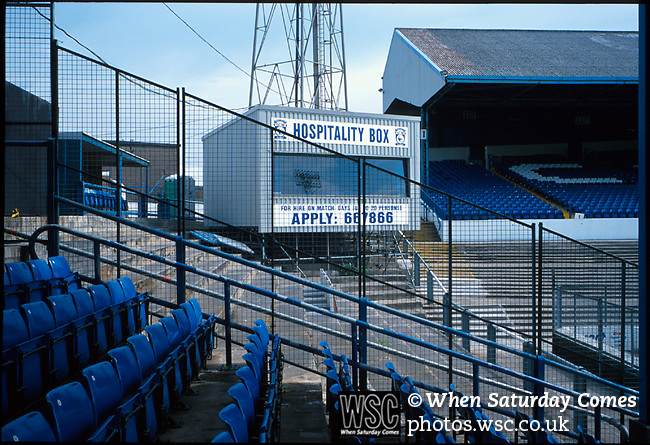 XX football ground 1994. (Exact date tbc). Photo by Tony Davis. Low resolution file only