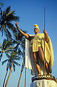King Kamehameha I Statue (this is the original - the statue in Honolulu is a duplicate); Kapa'au, North Kohala, Hawaii.