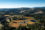 Evening Land's vineyards in Sonoma, California in close proximity to the coast.