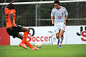 (R-L) Manabu Saito (JPN), Ruben Ligeon (NED),.MAY 25, 2012 - Football / Soccer :.2012 Toulon Tournament Group A match between U-23 Japan 3-2 U-21 Netherlands at Stade de l'Esterel in Saint-Raphael, France. (Photo by FAR EAST PRESS/AFLO)